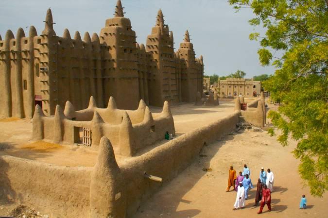 The Grand Mosque, Djenne, Mali, Africa