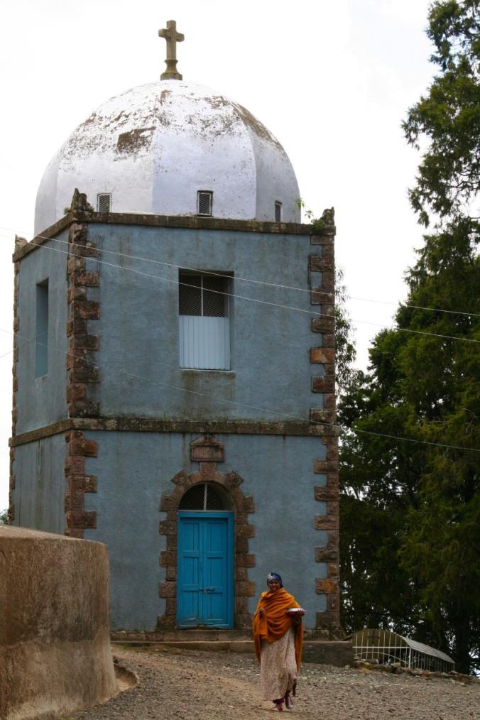 Ethiopian Coptic church, Addis Ababa, Ethiopia, Africa