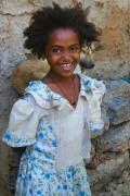 Young girl near Bahir Dar, Ethiopia, Africa
