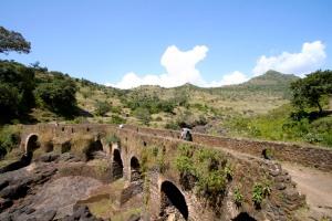 Walking to the Blue Nile Waterfalls, Lake Tana, Bahir Dar, Ethiopia, Africa