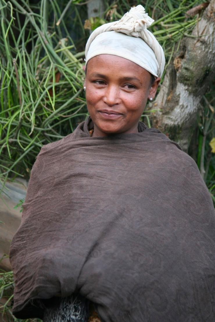 Ethiopian woman, Bahir Dar, Ethiopia, Africa