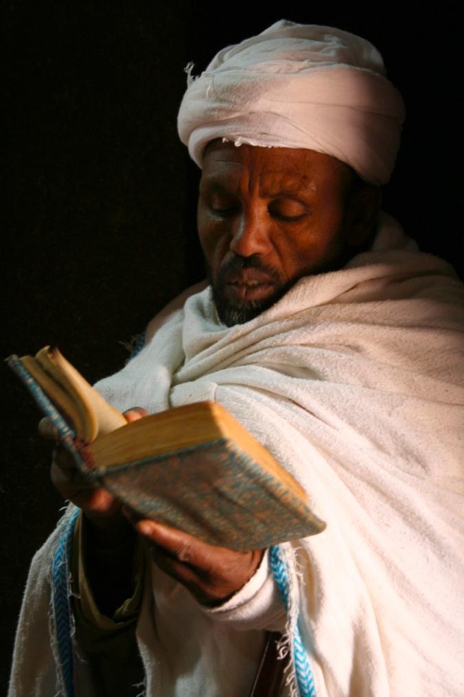 Priest, Lalibela, Ethiopia, Africa