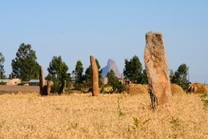 Gudit stelae group, Axum, Ethiopia, Africa