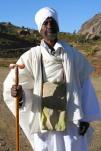 A priest near Debre Damo Monastery, Ethiopia, Africa