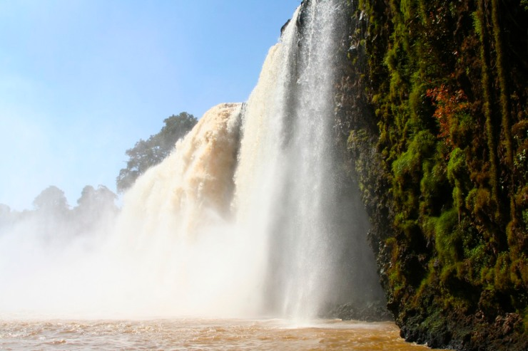 Blue Nile Waterfalls, Lake Tana, Bahir Dar, Ethiopia, Africa