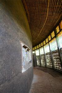 Interior of Kebran Gabriel Monastery, Lake Tana, Ethiopia, Africa