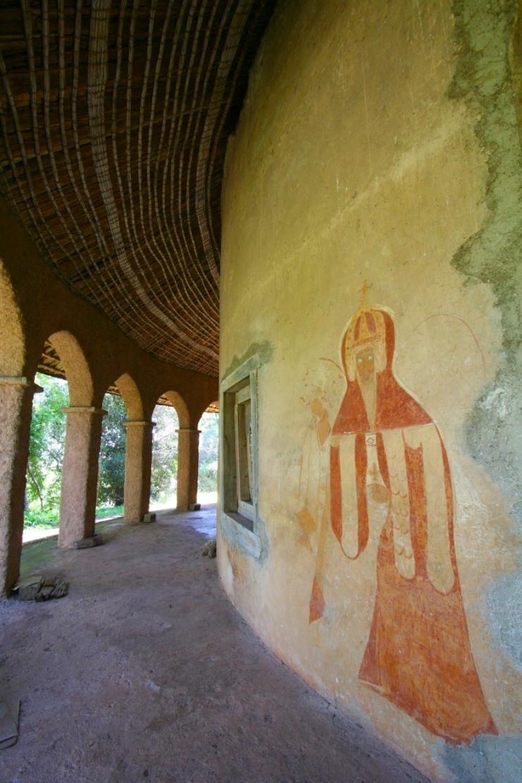 Debre Maryam Monastery, Lake Tana, Ethiopia, Africa