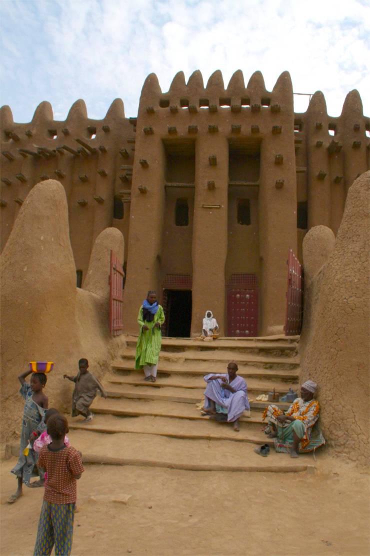 The Grand Mosque in Djenne, Mali, Africa