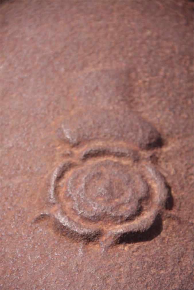 Cannon detail, Fort Real de São Filipe, Cidade Velha, Cape Verde, Africa