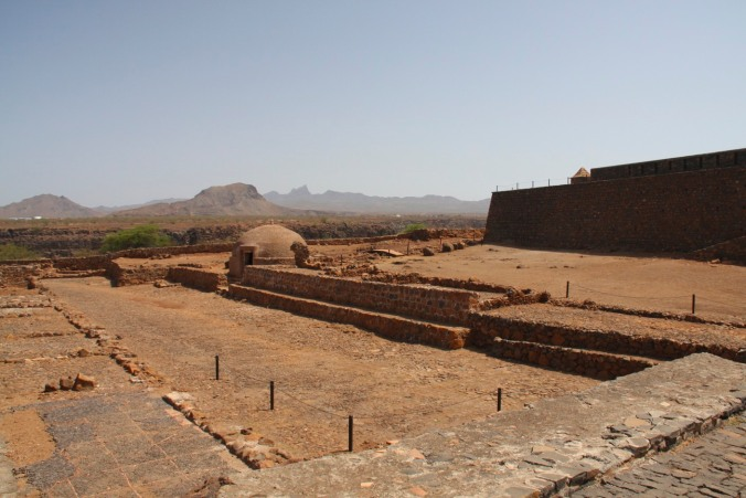 Fort Real de São Filipe, Cidade, Cape Verde, Africa