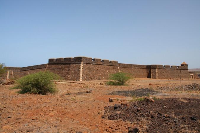 Fort Real de São Filipe, Cidade Velha, Cape Verde, Africa