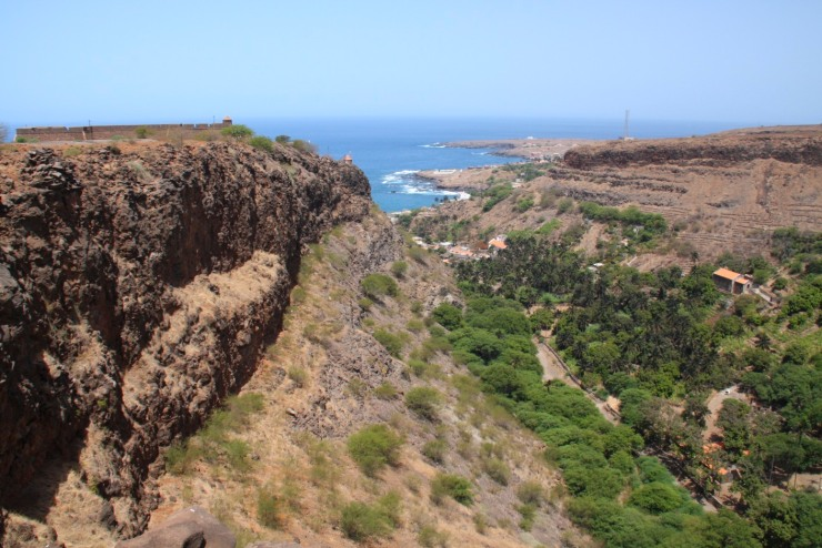 View from Fort Real de São Filipe, Cidade Velha, Cape Verde, Africa
