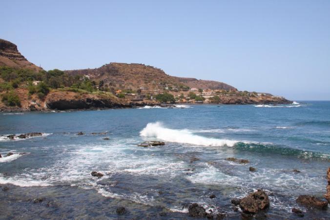 View of Cidade Velha, Cape Verde, Africa
