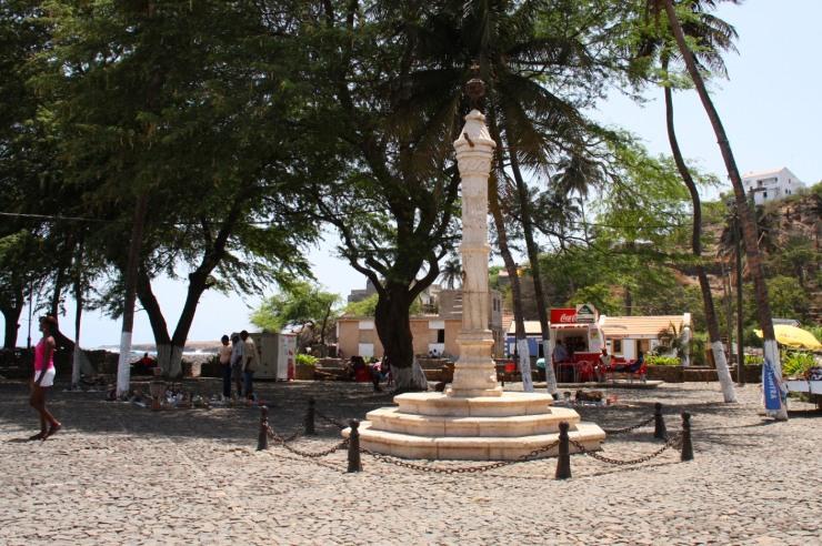 Pillory Post, Cidade Velha, Cape Verde, Africa