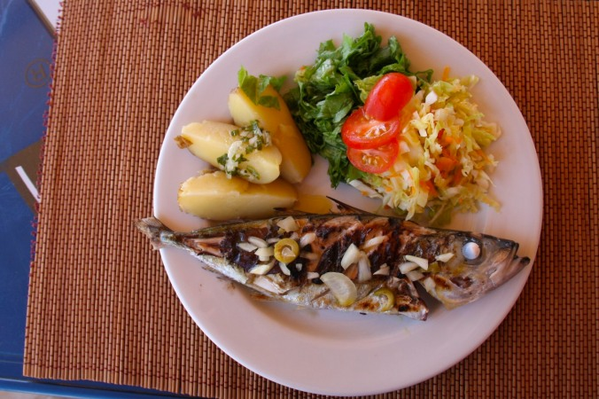 Lunch, Vila do Maio, Maio, Cape Verde