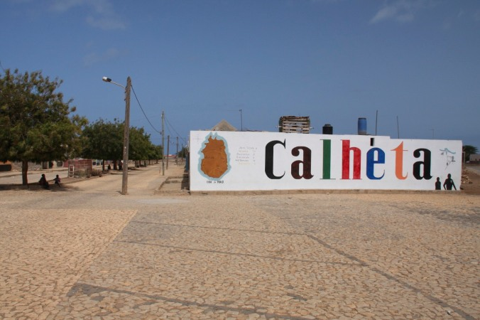The village of Calheta, Maio, Cape Verde, Africa