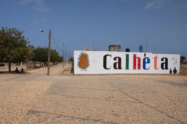 The village of Calheta, Maio, Cape Verde, Africa