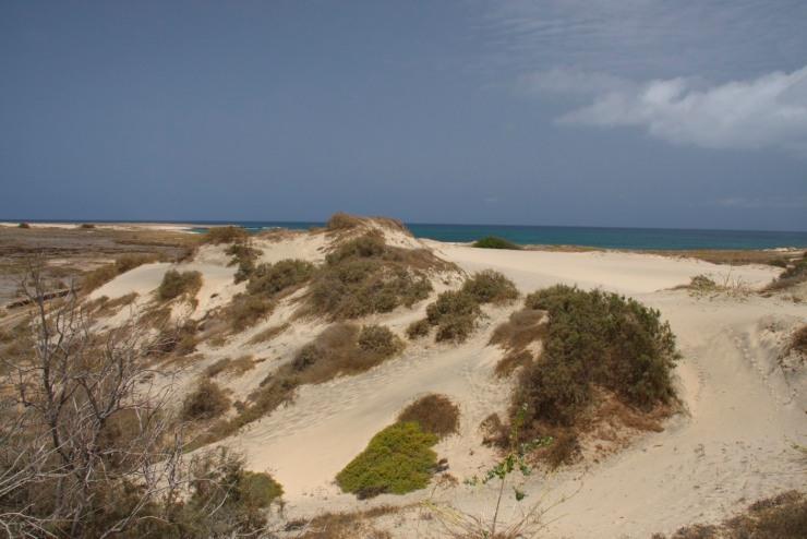 Sand dunes on Maio, Cape Verde, Africa