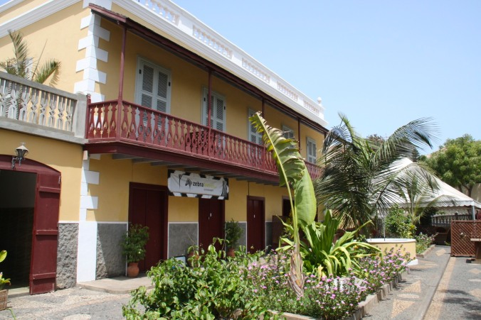 Hotel in old colonial house, São Filipe, Fogo, Cape Verde, Africa