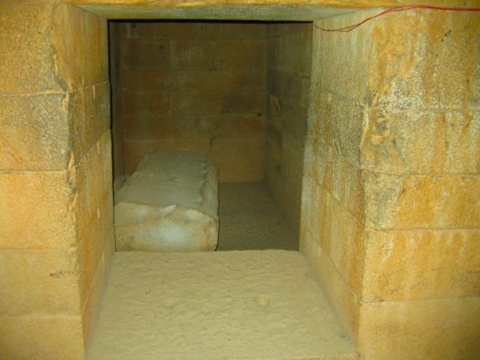 Tomb in the stelae field, Axum, Ethiopia, Africa