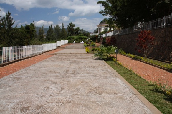 Mass graves, Genocide Memorial Centre, Kigali, Rwanda, Africa