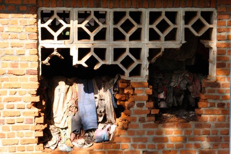 Exterior of Ntarama church, Rwanda, Africa