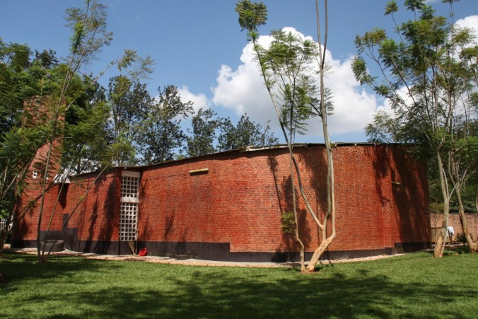 Nyamata church, Rwanda, Africa