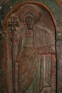 Ancient Christian carving, Lalibela, Ethiopia, Africa