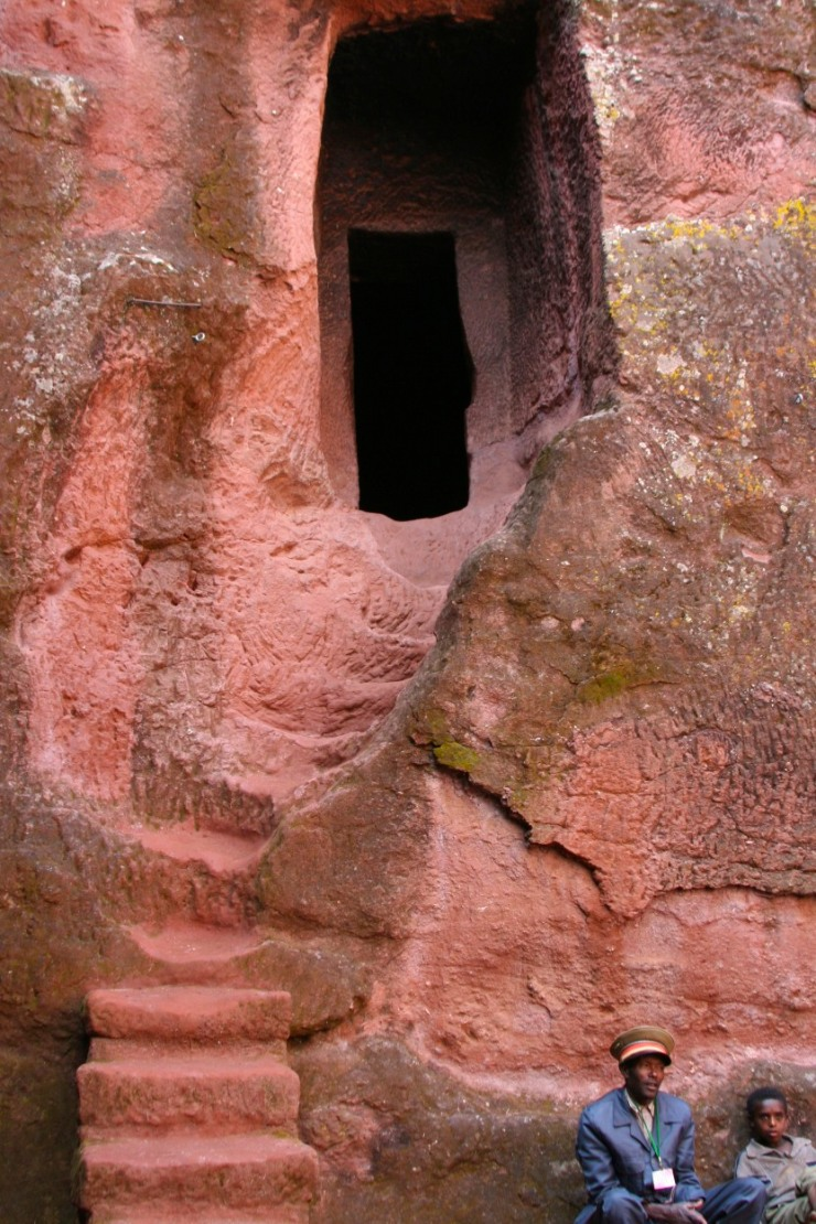 Rock-hewn church, Lalibela, Ethiopia, Africa