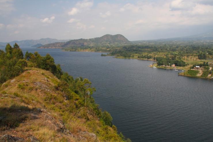 Lake Burera, Ruhengeri, Rwanda, Africa