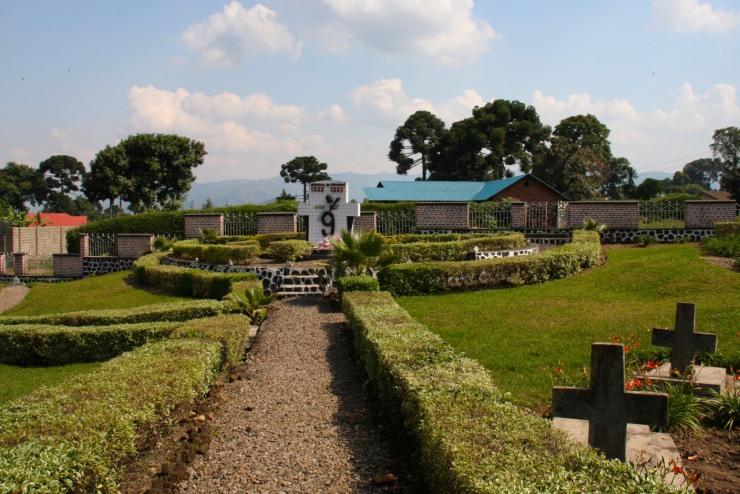 Genocide Memorial in Ruhengeri, Rwanda, Africa