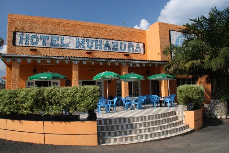 Hotel Muhabura, the best brochetes in town, Ruhengeri, Rwanda, Africa