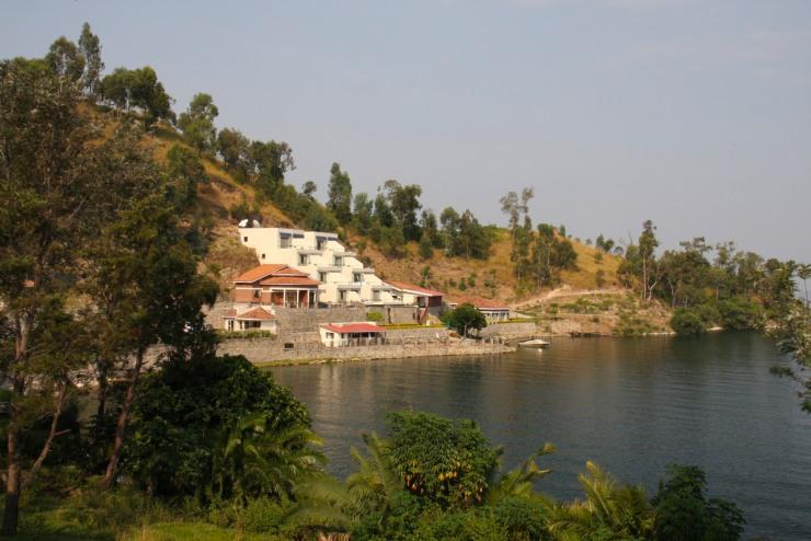 Moriah Hill Hotel on Lake Kivu, Kibuye, Rwanda, Africa