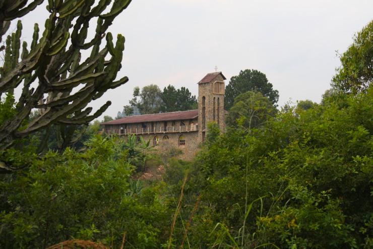 St. Jean Catholic Church, Kibuye, Rwanda, Africa