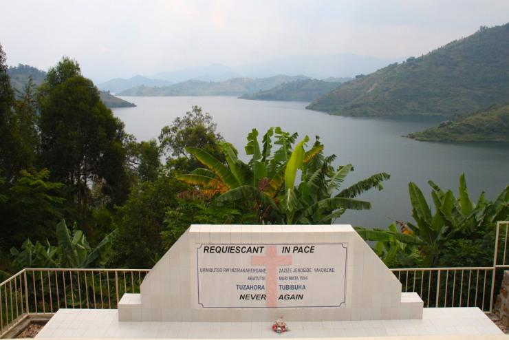Genocide memorial, St. Jean Catholic Church, Kibuye, Rwanda, Africa