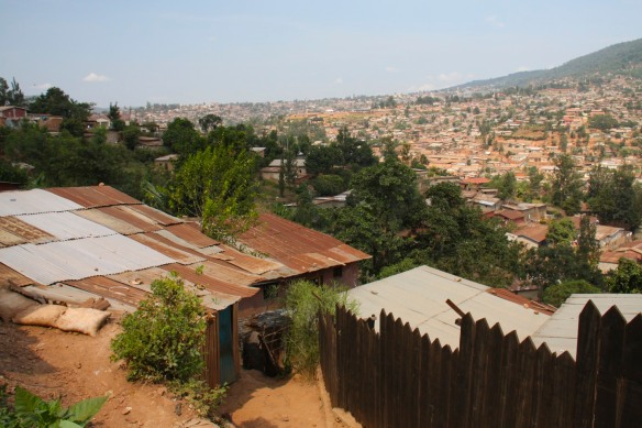 Views over Kigali, Rwanda, Africa