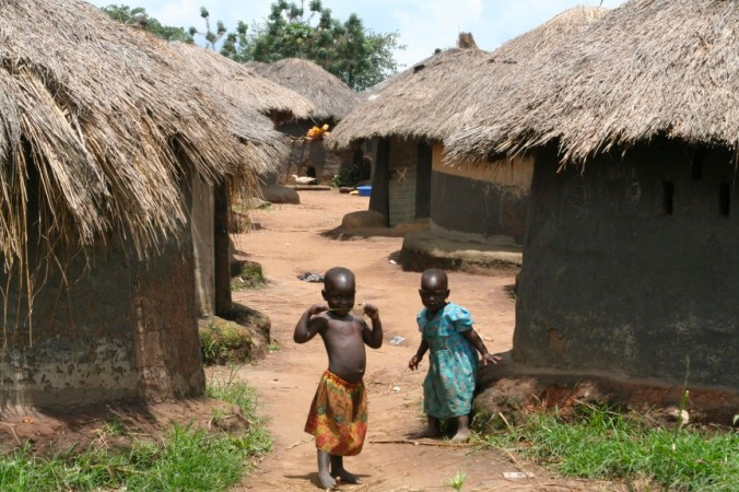 Internal Displacement Camp, Gulu Region, Uganda, Africa