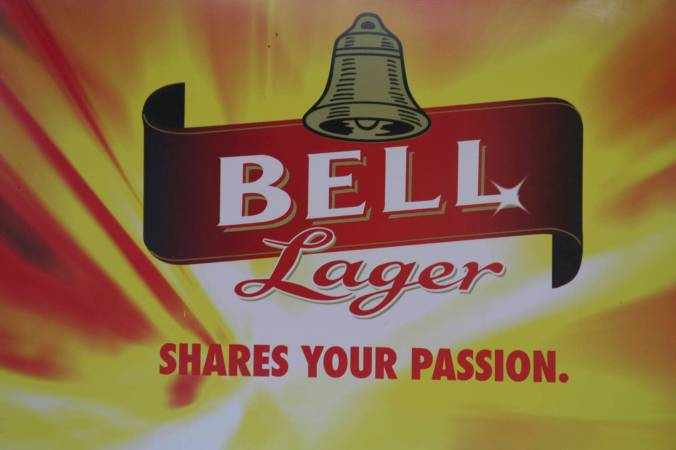 Share your passion for Bell Lager, Kampala, Uganda, Africa