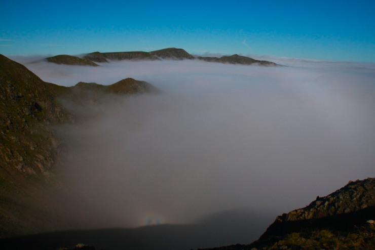Brocken Spectre, Fairfield Horseshoe, Lake District, Cumbria, England
