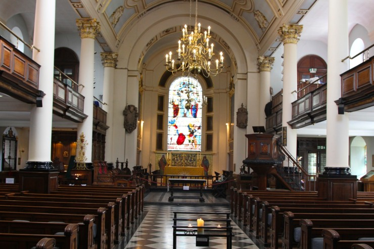 Church of St. Botolph Bishopgate, London, England