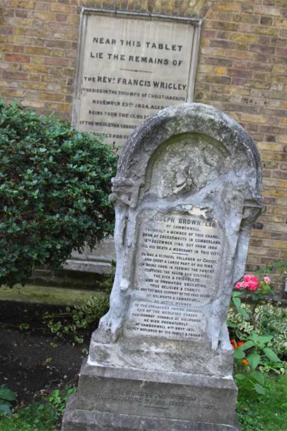 Grave, Wesley's Chapel, London, England