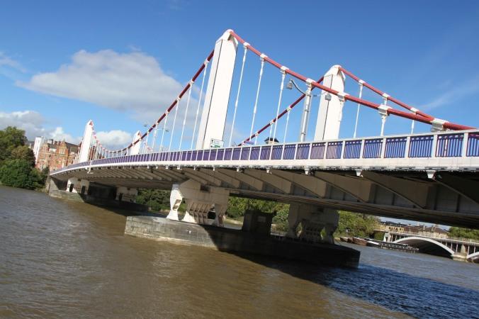 Chelsea Bridge, Battersea, London, England