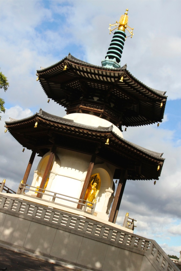Peace Pagoda, Battersea Park, London, England
