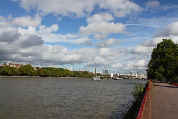 River Thames, Battersea Park, London, England