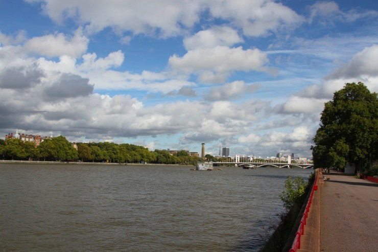 River Thames, Battersea Park, London, England