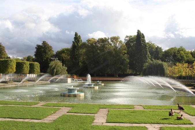 Festival Gardens, Battersea Park, London, England