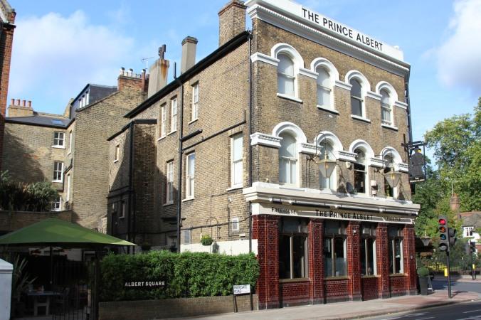 Prince Albert pub, Battersea Park, London, England