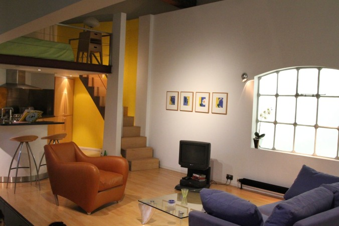 1990s loft apartment, Geffrye Museum, London, England