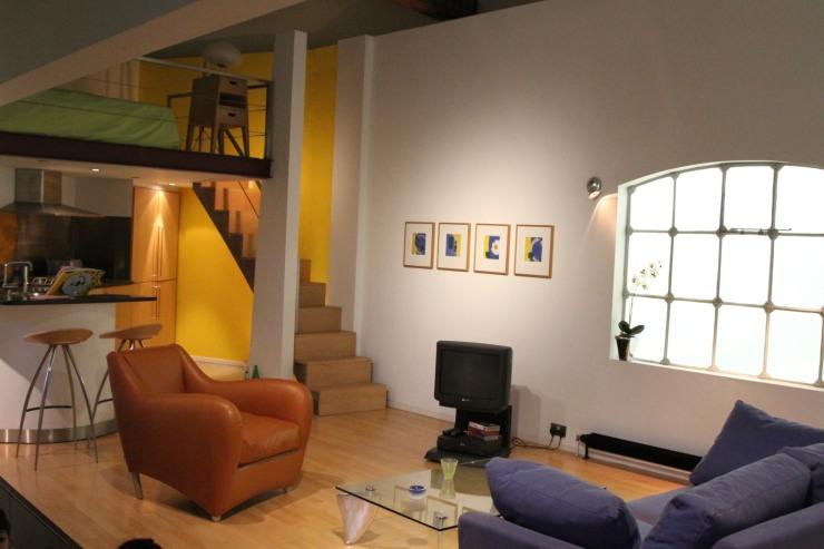 1990s loft apartment, Geffrye Museum, London, England