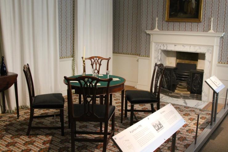 1790s parlour, Geffrye Museum, London, England